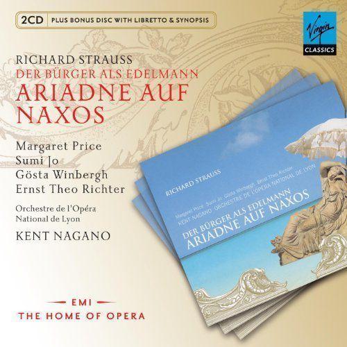 ARIADNE AUF NAXOS (3CD+CD-ROM) - Nagano (Płyta CD)