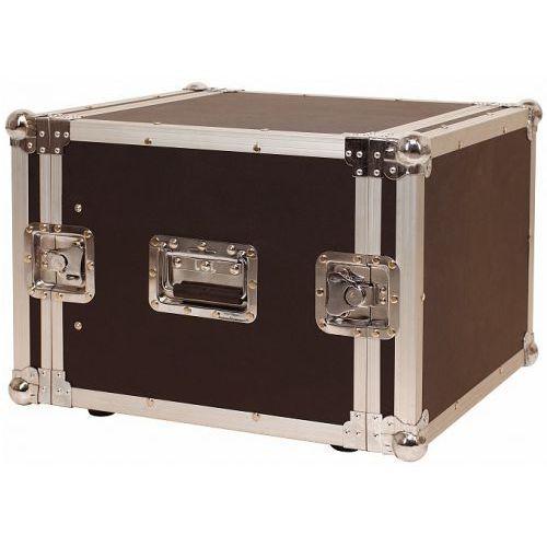 Rockcase rc 24108 b futerał flight case 19′′ do urządzeń typu rack, max gł. 43 cm, max wys. 36 cm