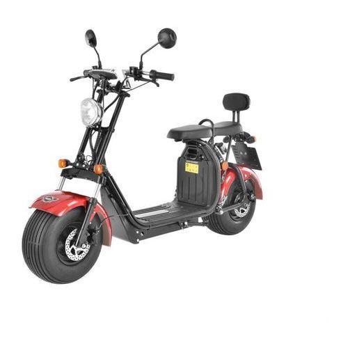 HECHT COCIS RED SKUTER E-SKUTER MOTOR ELEKTRYCZNY AKUMULATOROWY MOTOCROSS MOTOREK MOTOCYKL - OFICJALNY DYSTRYBUTOR - AUTORYZOWANY DEALER HECHT (8595614924771)