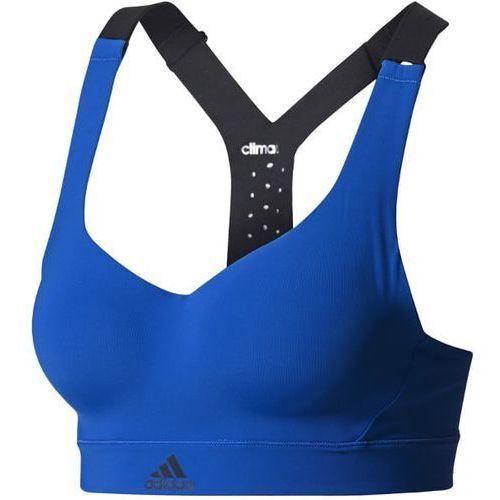 adidas Performance Biustonosz sportowy blue, kolor niebieski