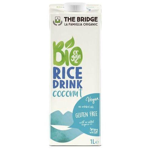 Napój mleko ryżowo-kokosowe 1l - the bridge - eko hit! marki 121the bridge