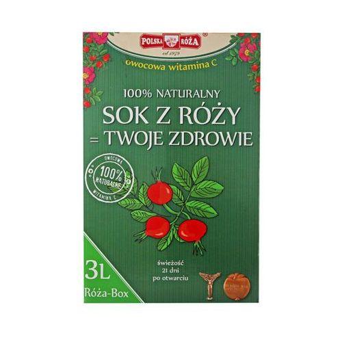 Polska róża 3l sok z owoców dzikiej róży 100% owocowa witamina c