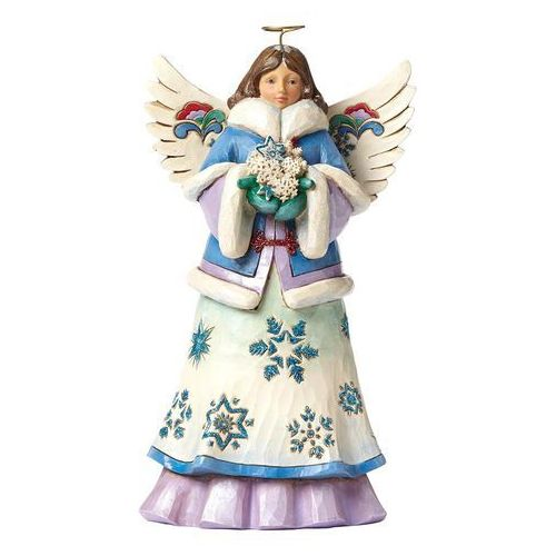 Anioł zimowy, skrzydła (may blessings fall upon you), 4047658 artysta figurka ozdoba świąteczna marki Jim shore