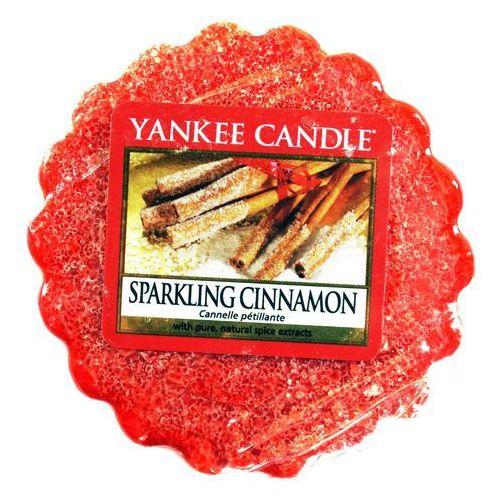 Wosk zapachowy - sparkling cinnamon - 22g - marki Yankee candle
