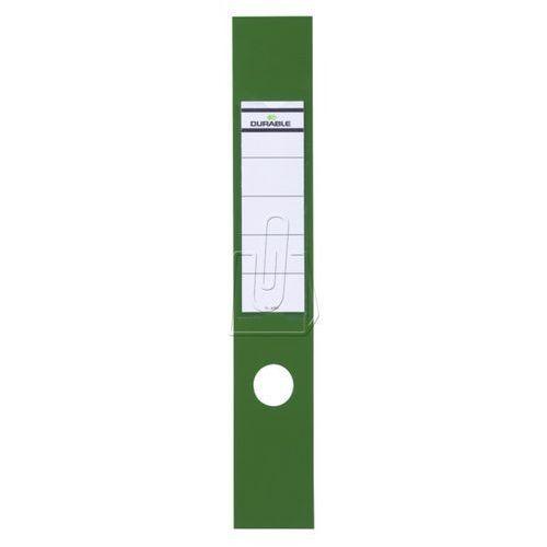Durable Etykiety na segregator 60x390 zielone 10 szt. 8090-05 (4005546846033)