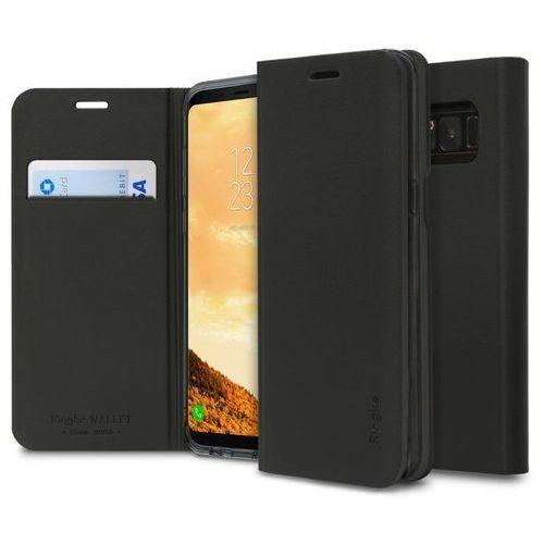 Etui Ringke Wallet Fit Samsung Galaxy S8 Black, kolor Etui