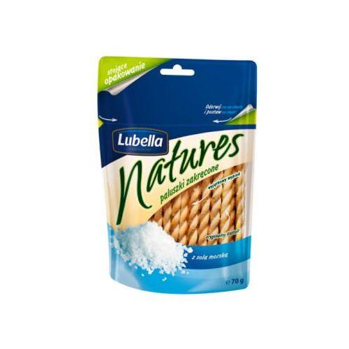 Paluszki zakręcone z solą morską marki Lubella