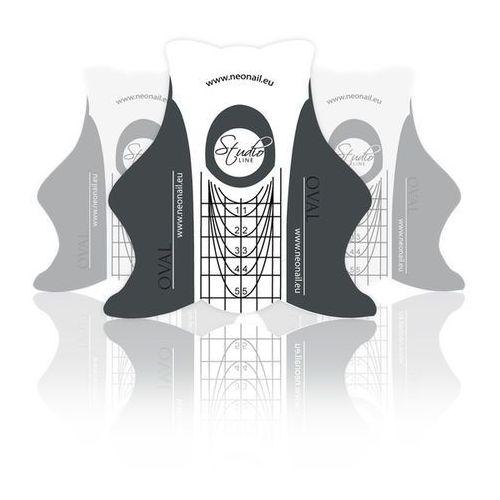 Szablony studio line oval - 500 szt. marki Neonail