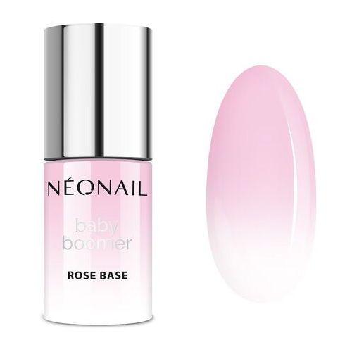 Neonail Baza hybrydowa baby boomer base rose base 7,2 ml (5903657856998)