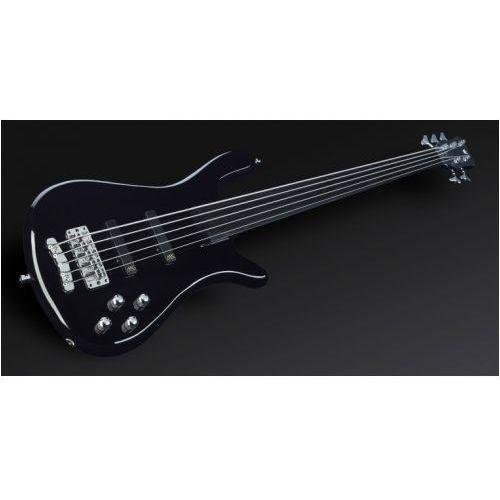 streamer nt i 5-str. solid black high polish, fretless gitara basowa marki Rockbass