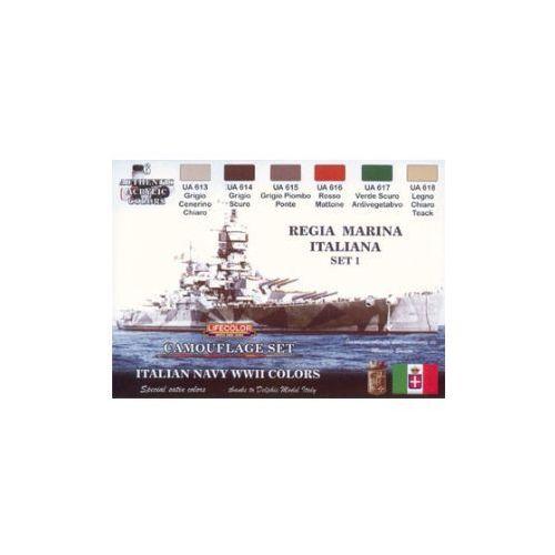 Zestaw kamuflażowych farb  CS15 ITALIAN NAVY WWII SET1 REGIA MARINA ITALIANA, produkt marki LifeColor