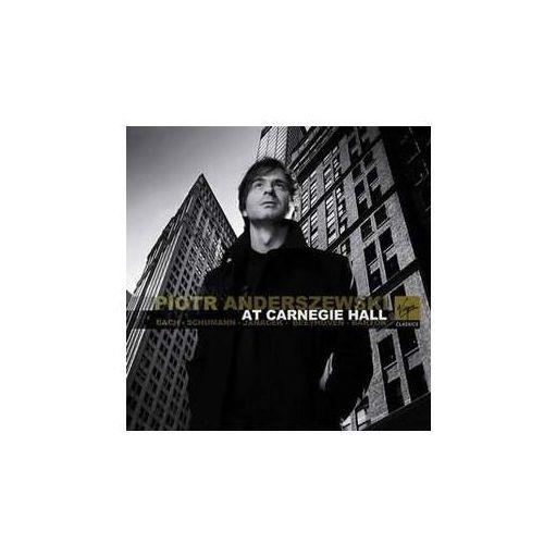 Empik.com Piotr anderszewski at carnegie hall - piotr anderszewski (płyta cd)