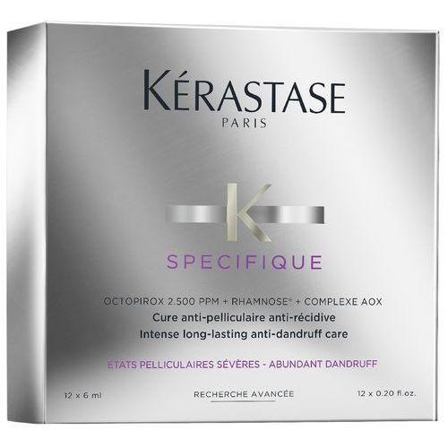Kerastase specifique intense long-lasting anti-dandruff care   kuracja przeciwłupieżowa 12x6ml