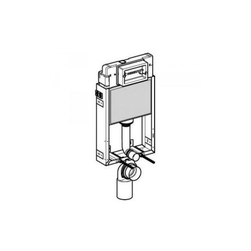 Geberit KombifixBasic - element montażowy do WC, UP100, Delta, H108 110.100.00.1 - produkt z kategorii- Stelaże i zestawy podtynkowe