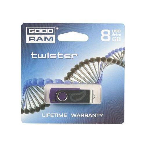 PENDRIVE GOODRAM 8GB TWISTER PURPLE, kup u jednego z partnerów
