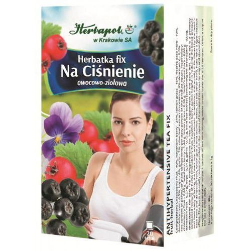 Herbata Na ciśnienie fix 20*2g HERBAPOL KRAKÓW (5903850010890)