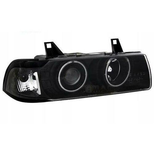 Eagle eyes Lampy reflektory przednie bmw e36 coupe/cabrio black ringi