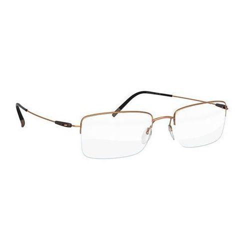 Okulary korekcyjne dynamics colorwave nylor 5496 7630 marki Silhouette