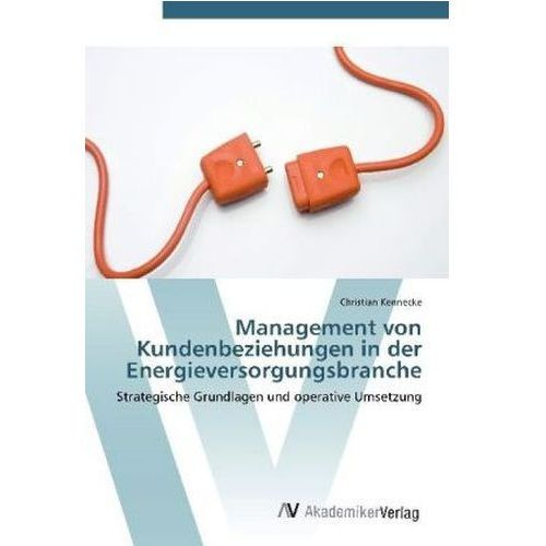 Management Von Kundenbeziehungen In Der Energieversorgungsbranche (9783639394863)