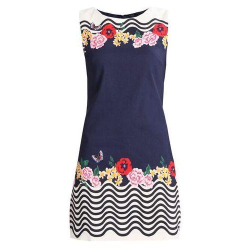 Desigual vest prudencia sukienka letnia blue