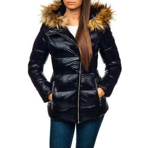Miss fofo Kurtka zimowa damska czarna denley 18119