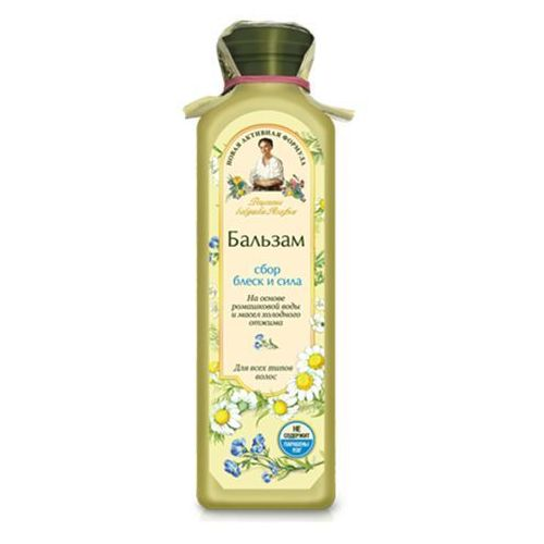 Balsam Balsam Agafii dla wszystkich typów włosów - blask i siła