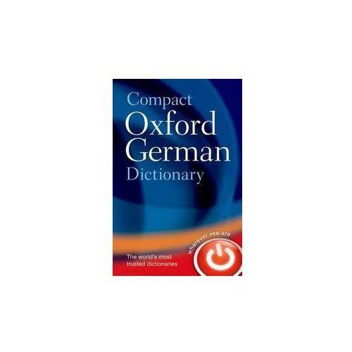 Compact Oxford German Dictionary - Wysyłka od 3,99 - porównuj ceny z wysyłką, oprawa miękka
