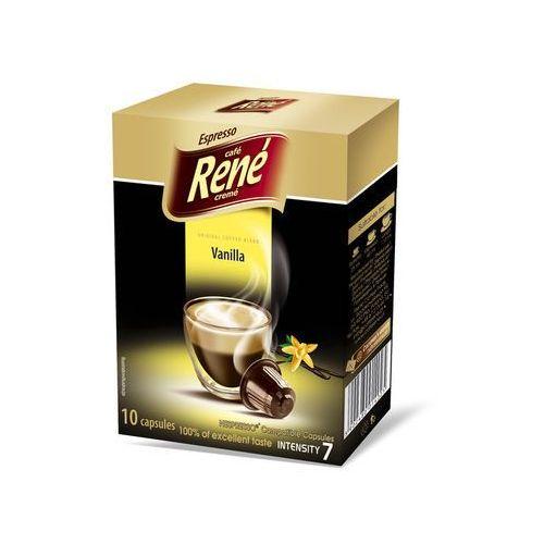 Rene Vanilla (kawa aromatyzowana) kapsułki do Nespresso – 10 kapsułek