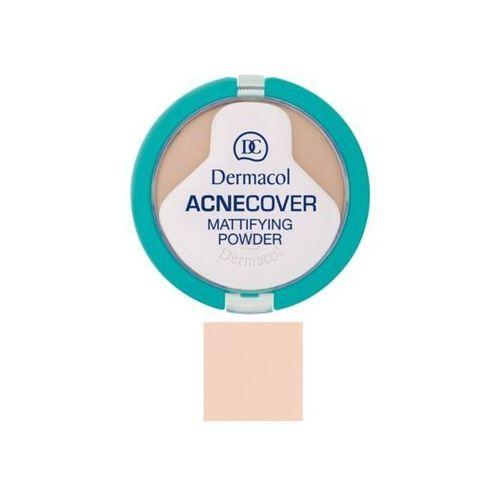 Dermacol Acnecover Mattifying Powder | Matujący puder do cery problematycznej Porcelain 01 11g