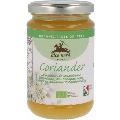 Miód nektarowy z kolendry bio 400 g - alce nero marki Alce nero (włoskie produkty)