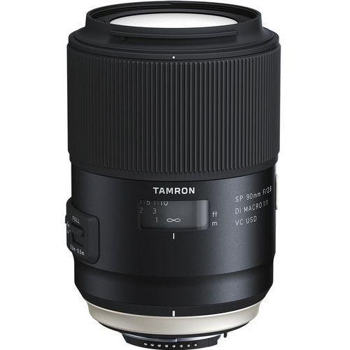 Tamron SP 90mm f/2.8 Di VC USD Macro Nikon - produkt w magazynie - szybka wysyłka! (4960371006048)