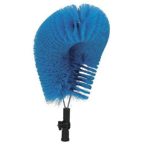 Szczotka do zewnętrznego czyszczenia rur, miękka, niebieska, 530 mm, VIKAN 53713, Vikan
