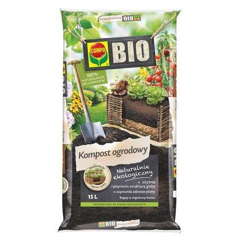 Compo Kompost ogrodowy bio : pojemność - 15 l (4008398129422)