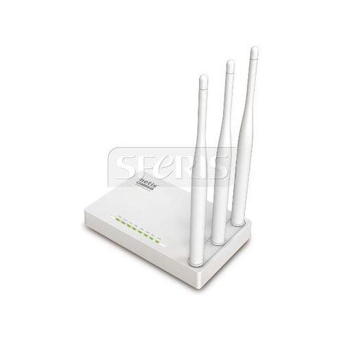Netis Router DSL WIFI G/N300 + LAN x4, 3x Antena 5 dBi - WF2409E