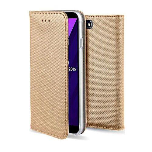 Etui na telefon Huawei Mate 10 Lite Smart złote