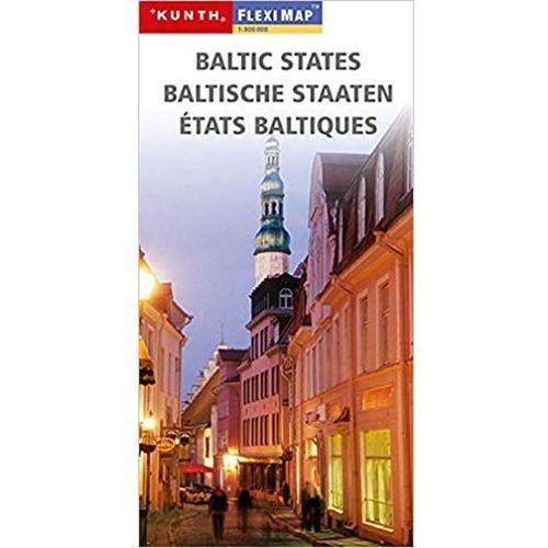 Baltische Staaten/Fleximap 1:800T KUN neuveden (9783899447408)