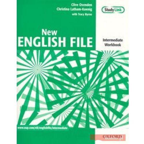 New English File Intermediate Workbook + płyta CD (9780194518062)
