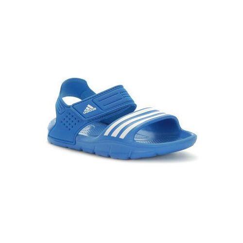 Adidas. AKWAH 8 K. Sandały - niebieskie, rozmiar 39 1/3 - sprawdź w MERLIN