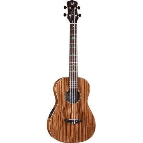 Luna zebra ukulele barytonowe elektroakustyczne