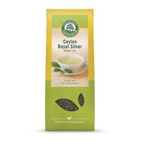 Herbata biała ceylon liściasta bio 40 g - lebensbaum marki Lebensbaum (przyprawy, herbaty, kawy)