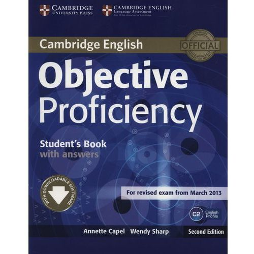 Objective Proficiency Student's book with answers (2013)