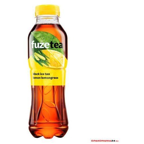 Napój herbaciany FUZETEA CYTRYNA Z TRAWĄ CYTRYNOWĄ 0.5l PET