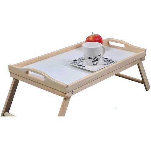 Żyj łatwiej Stolik pomocniczy do łóżka z rozkładanymi nóżkami