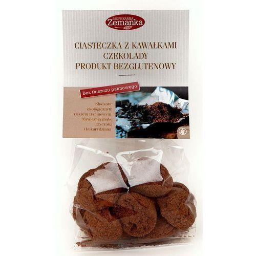 Bezglutenowe ciasteczka z kawałkami czekolady 100g marki Zemanka (ciastka, krakersy bezglutenowe)