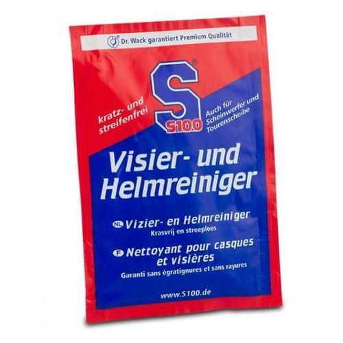 S100 VISIER UND HELMREINIGER chusteczka czyszcząca do kasku (saszetka) 2410