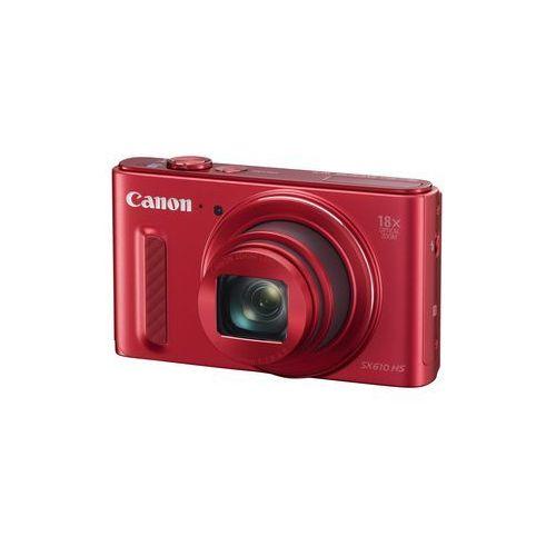 PowerShot SX610 marki Canon - aparat cyfrowy