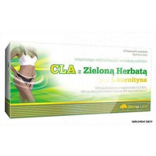 Olimp cla z zieloną herbatą plus l-karnityna x 60 kapsułek marki Olimp laboratories