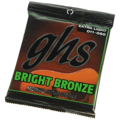Ghs bright bronze 20x struny do gitary akustycznej 11-50