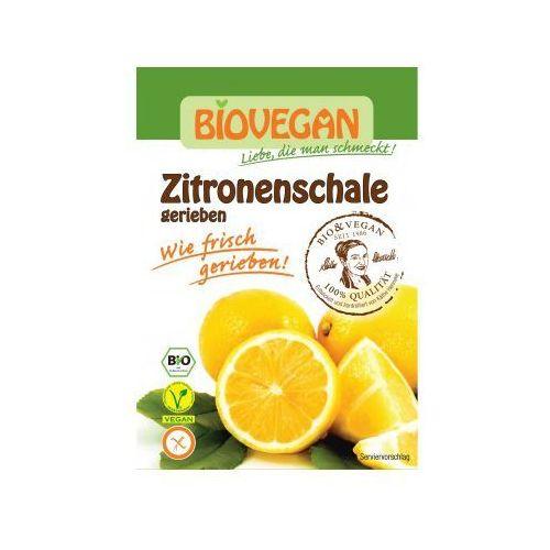 Skórka cytryny suszona bezglutenowa bio 9g marki Biovegan