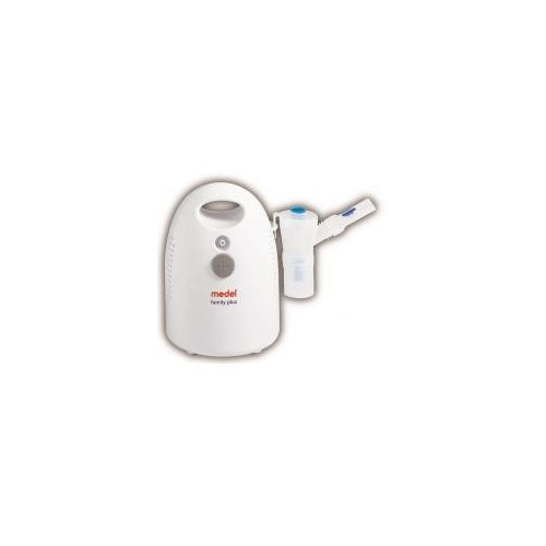 Inhalator MEDEL FAMILY PLUS NOWOŚĆ !!! z nebulizatorem aktywowanym wdechem (inhalator)